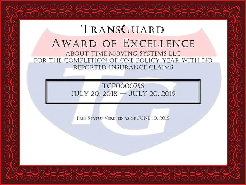 2019 award