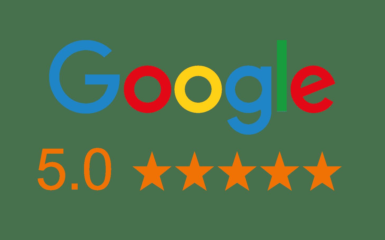 Google 5 star logo